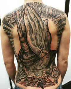 PrayingHandsTattoo
