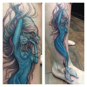 Mermaid tattoo92