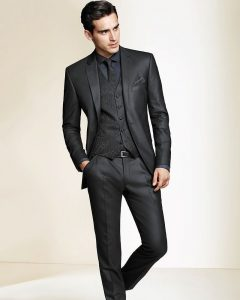 16-black-three-piece-modern-cut-prom-suit