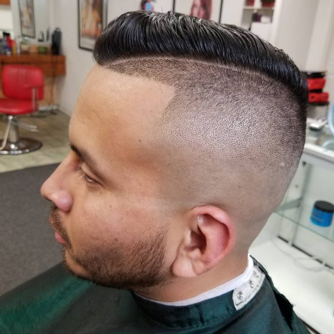 40 Fabulous High Top Fade Haircuts - Cool Fashion Trends