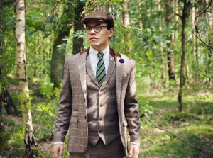 19-stylish-brown-check-suit-with-flat-cap