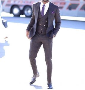 2-checked-three-piece-slim-fit-suit