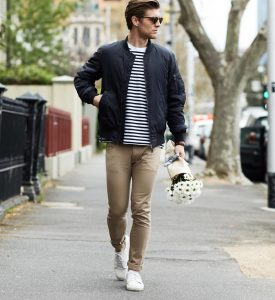 23-striped-t-shirt-with-a-fall-jacket