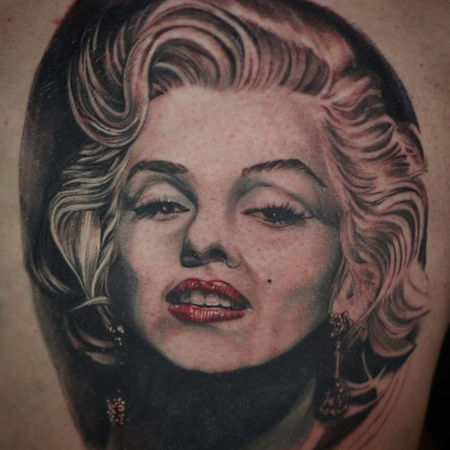 7a8cc4a3685 80 Classy Marilyn Monroe Tattoo Designs - The Inspirational Icon