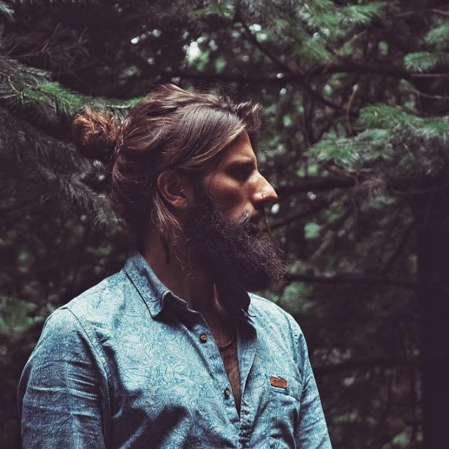 31-man-bun-with-textured-bangs