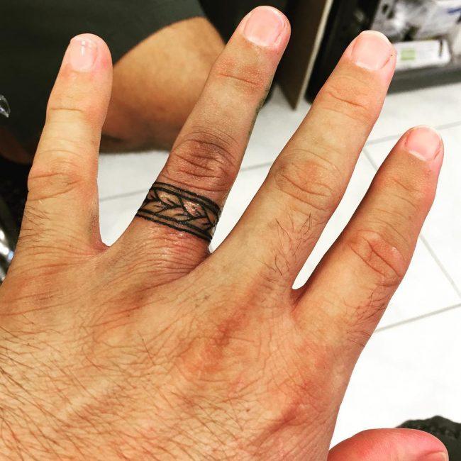 hearwarming wedding ring tattoo ideas the new