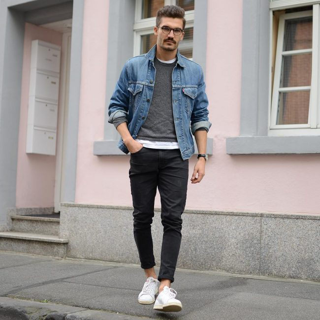 39-jeans-jacket-with-a-sweater