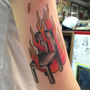 FlameTattoo45