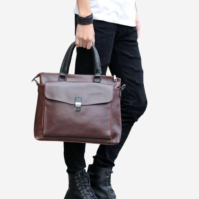 5-handmade-vegan-dark-tan-briefcase