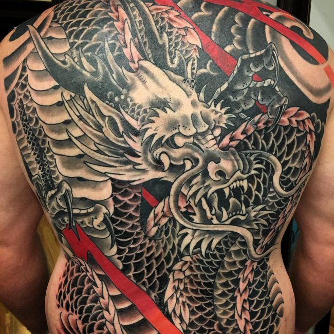 60 Attention Grabbing Dragon Tattoo Designs Mythological