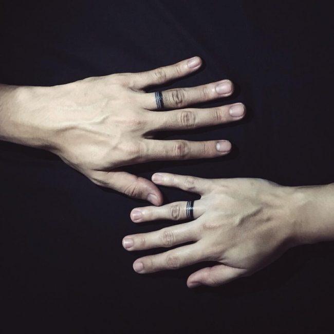 60 Hearwarming Wedding Ring Tattoo Ideas The New Celebrity Trend