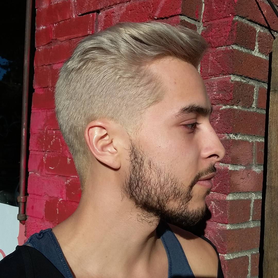 25 Ideas For Men S Bleached Hair The Bolder The Better