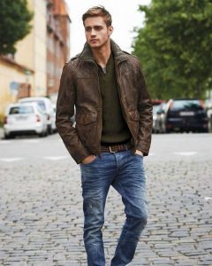 Brown Leather Jackets 28