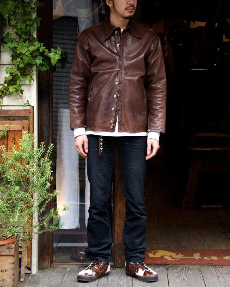 Brown Leather Jackets 34