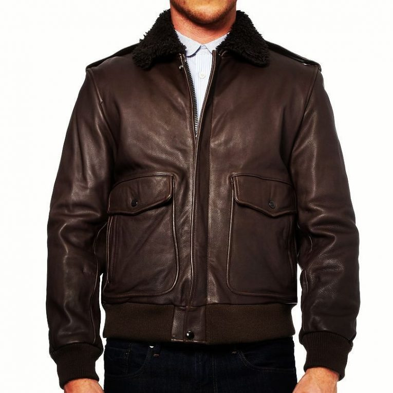 Brown Leather Jackets 36