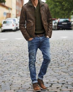 Brown Leather Jackets 37