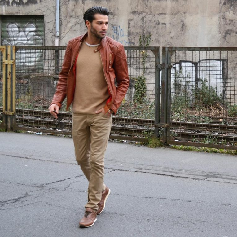 Brown Leather Jackets 39