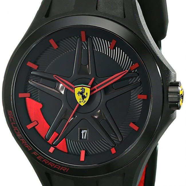 10 best ferrari watches reviews consider your choice in 2019ferrari men\u0027s 0830160 black \u0026 red watch