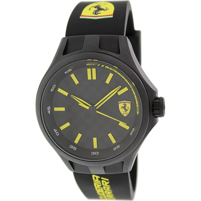 ferrari-mens-0830158-pit-crew-black-sport-watch-watch