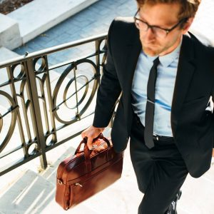 Leather Briefcase 38