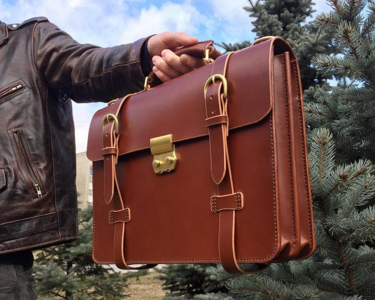 Leather Briefcase 40