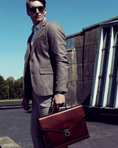 Leather Briefcase 41