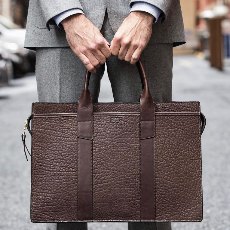 Leather Briefcase 42