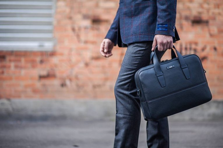 Leather Briefcase 43
