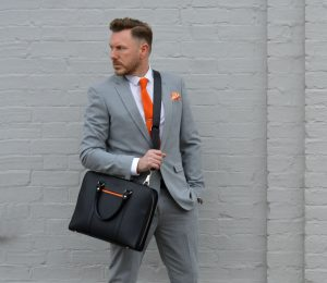 Leather Briefcase 45