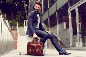 Leather Briefcase 46
