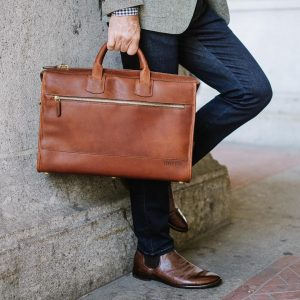 Leather Briefcase 48