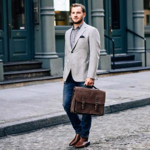 Leather Briefcase 49