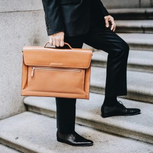 Leather Briefcase 50