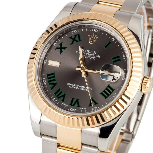 rolex-datejust-ii-2-steel-yellow-gold-watch-grey-and-green-dial-116333