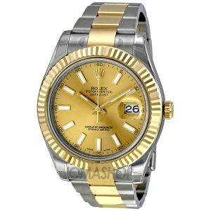rolex-datejust-ii-champagne-dial-18k-two-tone-gold-mens-watch-116333cso