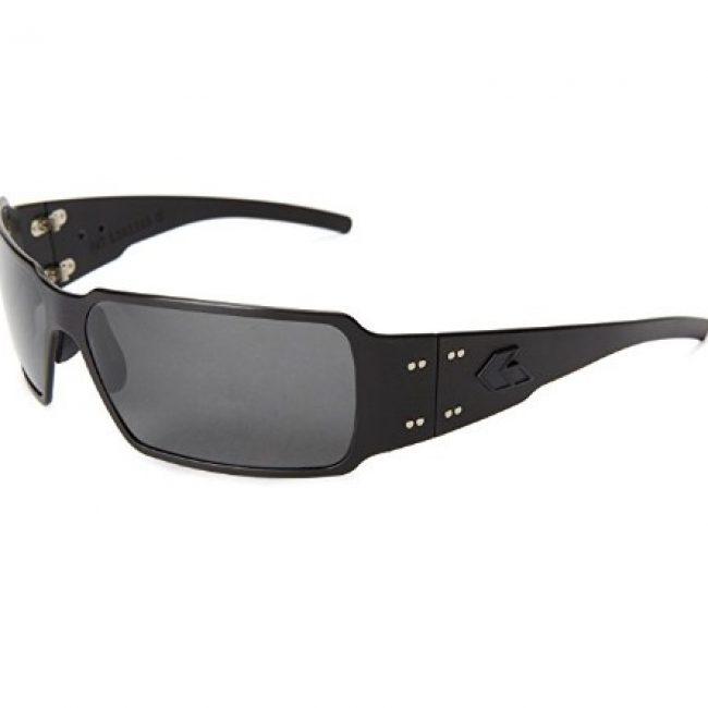 Gatorz BOXBLK01P_MBP Polarized Rectangular Sunglasses