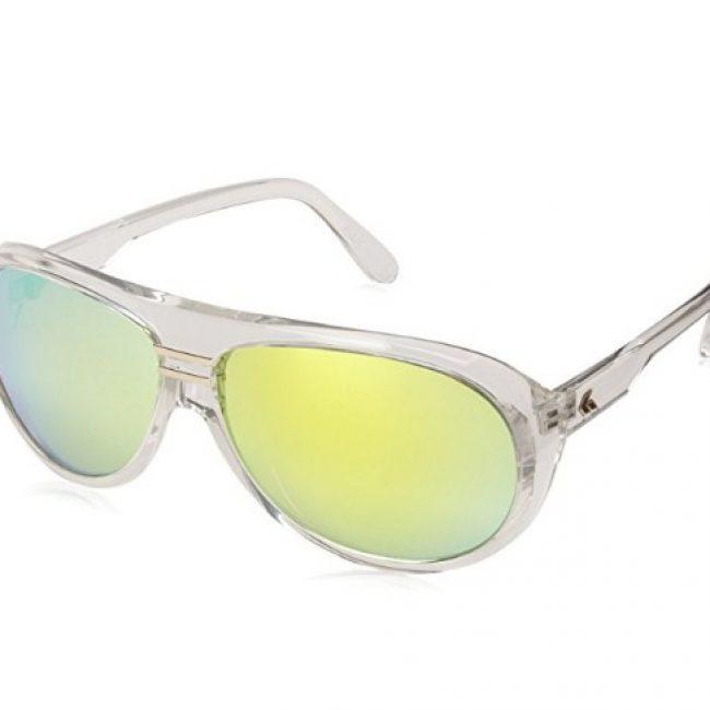 Gatorz ELYCLR12C Iridium Round Sunglasses