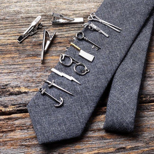60 Cool Tie Clip Ideas Lovely Gentleman S Option