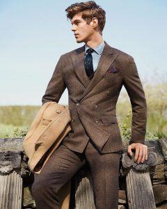 Tweed Suit 46