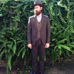 Tweed Suit 50