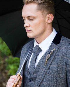 Tweed Suit 55