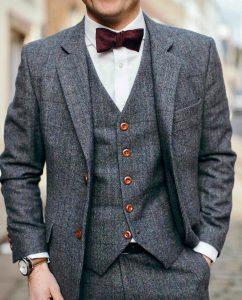 Tweed Suit 61