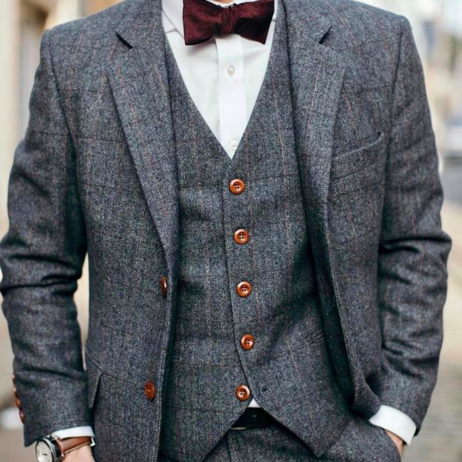 60 Adorable Tweed Suit Styles Always Be Fashionable