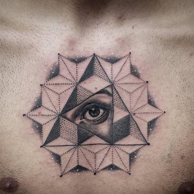 50 mysterious all seeing eye tattoo ideas everything you want to know. Black Bedroom Furniture Sets. Home Design Ideas