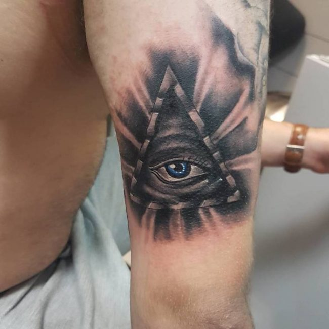 50 mysterious all seeing eye tattoo ideas everything you for All in one tattoo