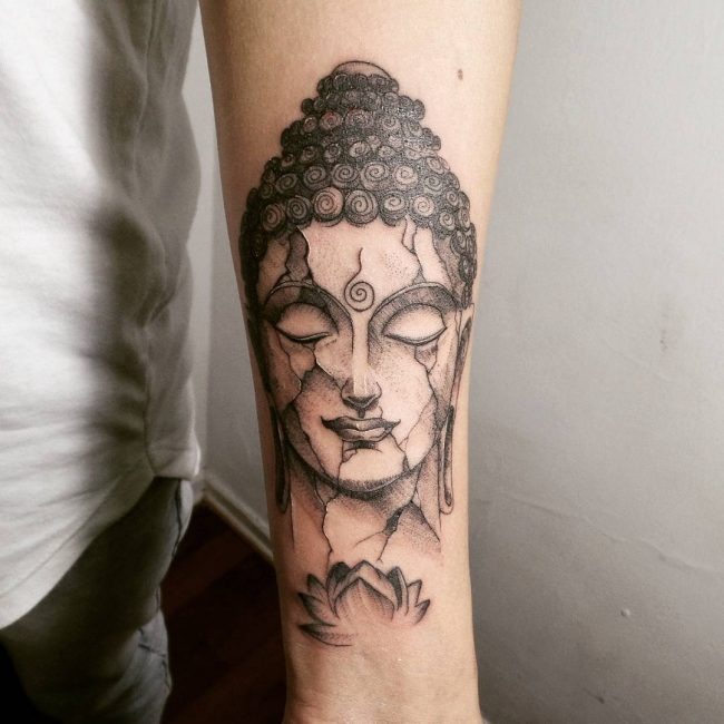 75 Peaceful Buddha Tattoo Designs - History, Meanings, and ...