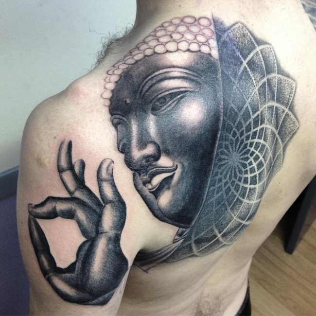 75 Peaceful Buddha Tattoo Designs History Meanings And Ideas