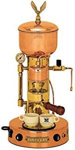 Elektra ART.SX Microcasa Semiautomatica Commercial Espresso Machine - Copper & Brass