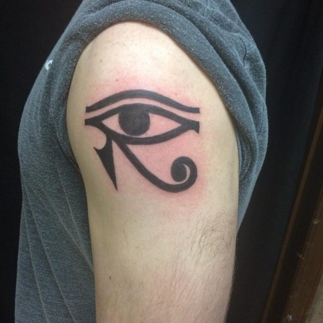 Eye of ra tattoo body art t for Eye of horus temporary tattoo