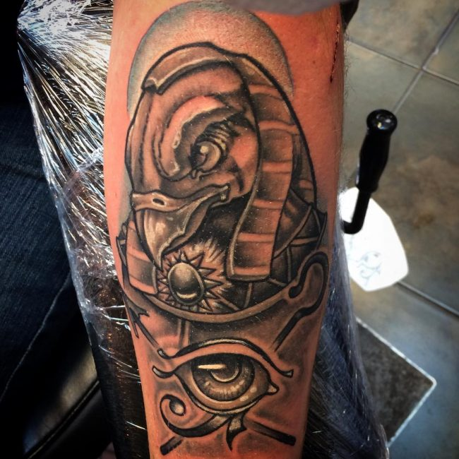 50 Ancient Eye of Ra Tattoo Ideas – Your Protection and Power Egyptian God Ra Tattoo